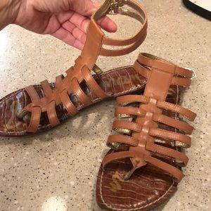 Sam Edelman Shoes - Sam Edelman brown ankle strap sandal